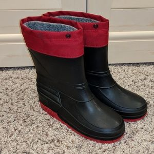 Other - Boys lined rain/snow boots size 13
